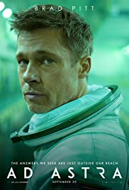 Brad Pitt stars as Roy McBride in the new movie Ad Astra.