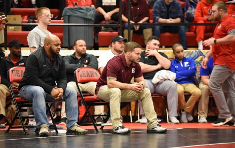 Coach Will Delk led the team at the Geary tournament.