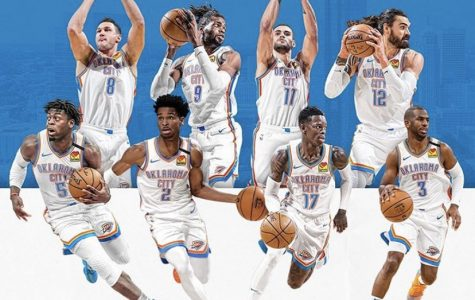 The Oklahoma City thunder is catching fire as the season progresses.