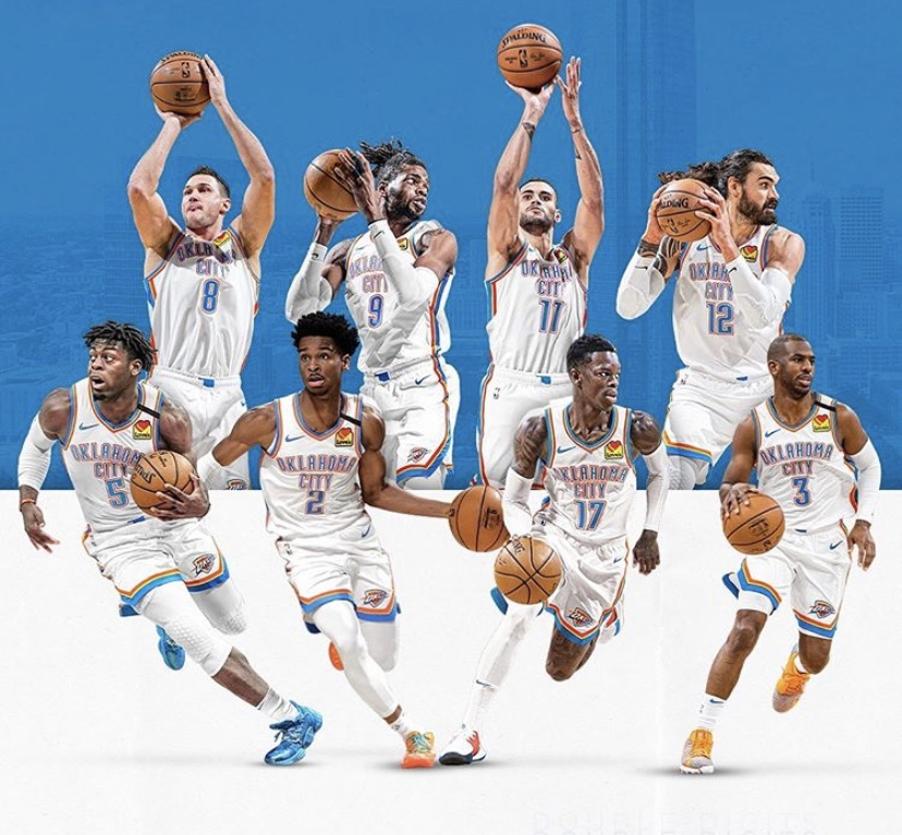 The+Oklahoma+City+thunder+is+catching+fire+as+the+season+progresses.+