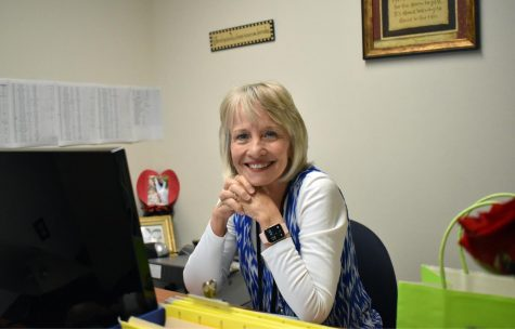 Retiring Bulldogs: Jenny Brumley, who works as data management secretary, is retiring from EMHS after 23 dedicated years of work.