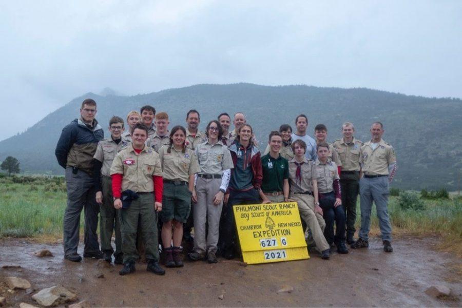 Troop+78+on+their+annual+backpacking+trip.